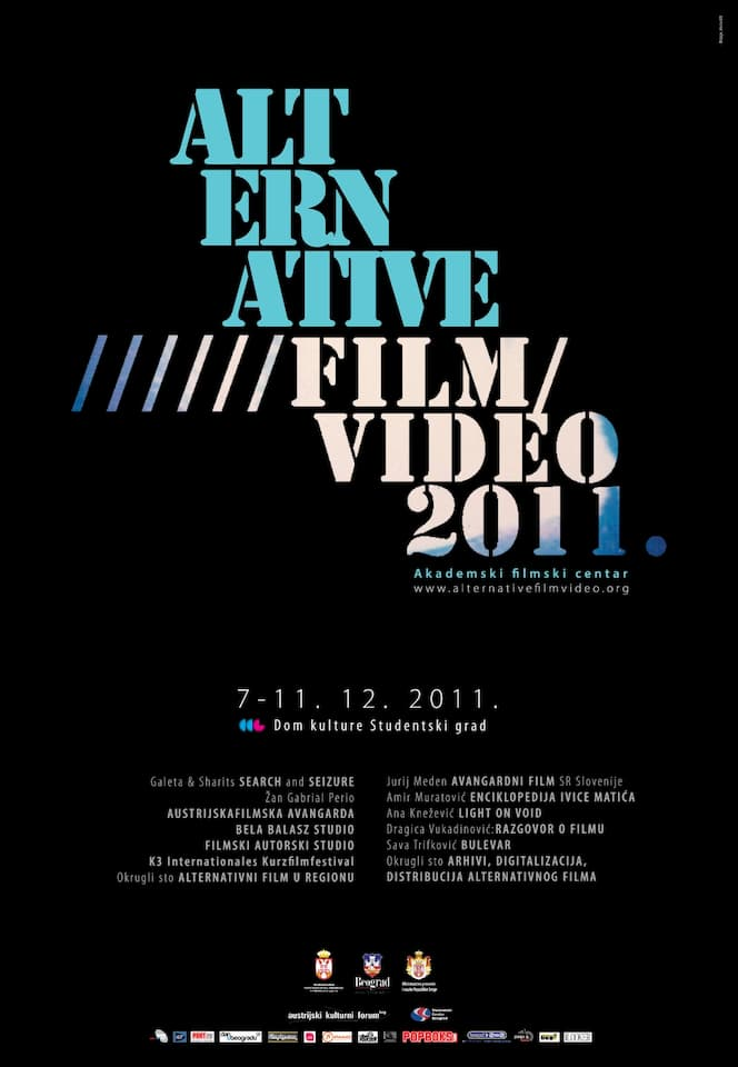Alternative Film/Video Festival 2011 Awards